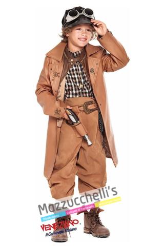 Costume Steampunk -Viaggio nel Tempo - Mazzucchellis