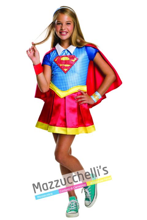 Costume SuperGirl Ufficiale - Mazzucchellis
