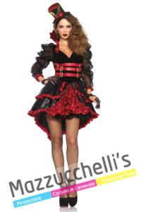 Costume Donna Vampiressa Steampunk -Viaggio nel Tempo