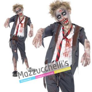 Costume Bambino Film Zombie Horror Halloween