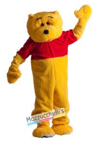 Costume Uomo Adulto Cartone Orso Mascotte Winnie The Pooh