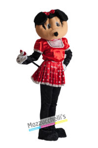 Costume Donna Adulta Cartone Mascotte Topolina Minnie Mickey Mouse