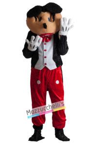 Costume Uomo Adulto Cartone Mascotte Topolino Mickey Mouse