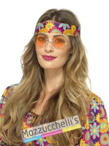 Occhiali Hippie Anni '70 Hippie carnevale halloween o feste a tema