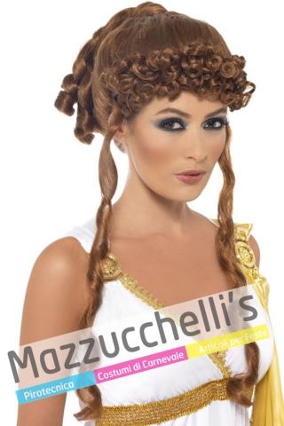Parrucca Dea Greca storici .- Mazzucchellis