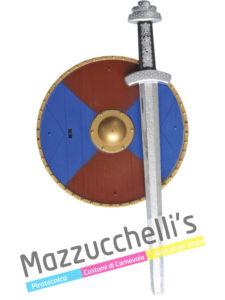 Set Spada e Scudo Medievali Storico