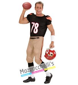 costume Adulto Uomo giocatore di football Americano