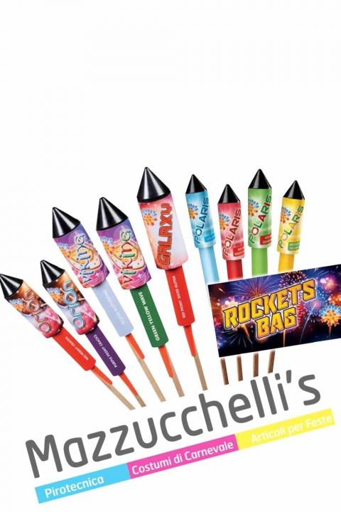razzi rockets bag FUOCHI ARTIFICIALI - Mazzucchelli's