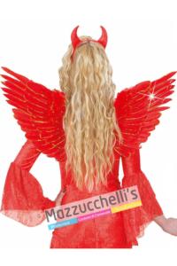 Ali Rosse con Glitter oro Mazzucchellis