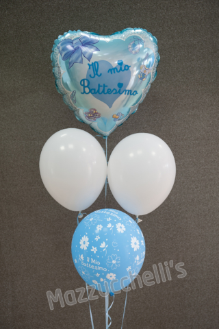 COMPOSIZIONE bouquet BATTESIMO bambino - Mazzucchellis