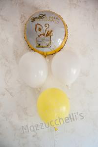 COMPOSIZIONE Bouquet di palloncini CRESIMA - Mazzucchellis