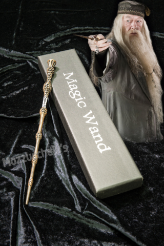 Bacchetta magica aLBUS sILENTE ORIGINALE HARRY POTTER - Mazzucchellis