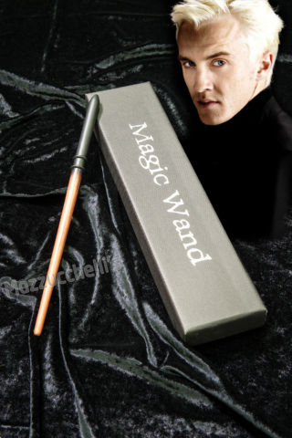 Bacchetta magica Draco Malfoy ORIGINALE HARRY POTTER - Mazzucchellis