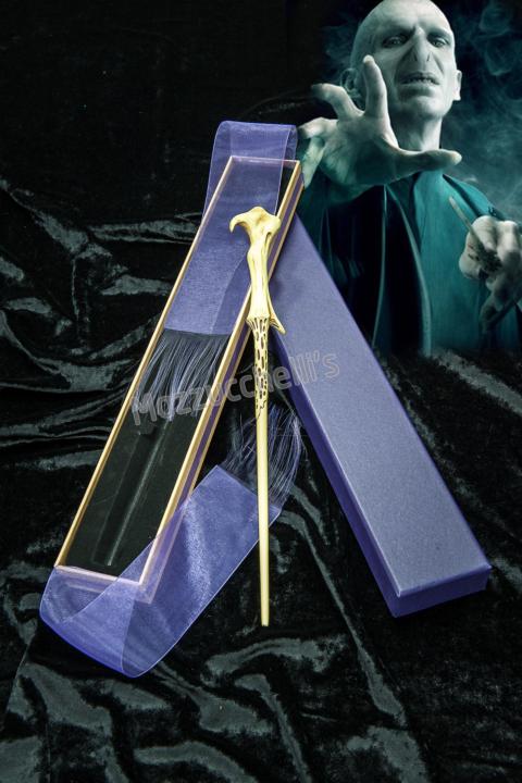 Bacchetta magica lusso Voldemort ORIGINALE HARRY POTTER - Mazzucchellis