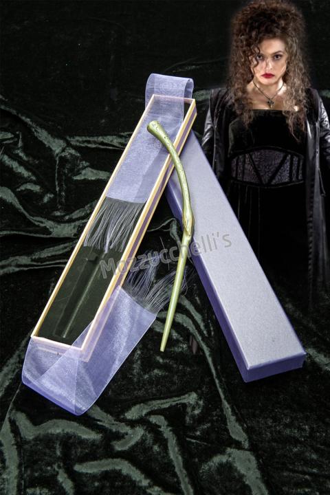 Bacchetta LUSSO magica Bellatrix film Harry Potter - Mazzucchellis