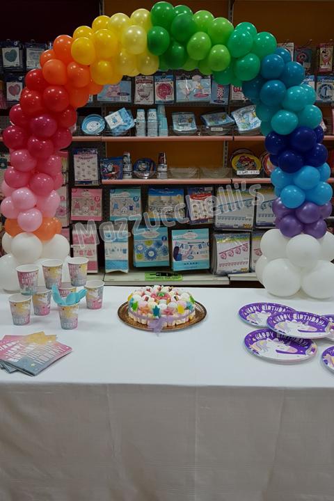 arco compleanno feste a tema - Mazzucchellis