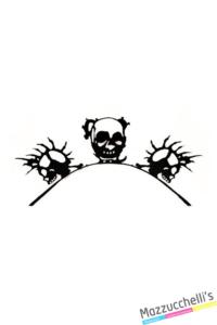 CIGLIA IN 3D con scheletro carnevale halloween e altre fesate a tema - Mazzucchellis