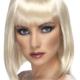 parrucca caschetto biondo anni 20 charleston - Mazzucchellis