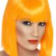 caschetto arancione charleston anni '20 halloween zucca- Mazzucchellis