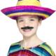cappello sombrero messicano colorato bambino - Mazzucchellis