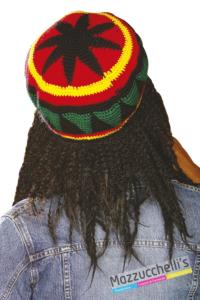 Cappello Reggae Jamaicano rasta popoli del mondo - Mazzucchellis