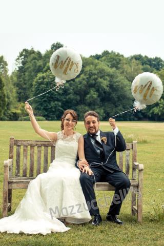 mrs e mr palloncini sposi Matrimonio - Mazzucchellis