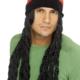 cappello con parrucca rasta adulto - Mazzucchellis