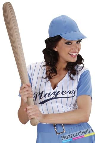 mazza da baseball gonfiabile 82cm carnevale halloween e altre feste a tema - Mazzucchellis