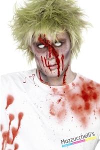 SANGUE SPRAY PER TESSUTI vampiri mostri zombie horror halloween carnevale feste a tema - Mazzucchellis