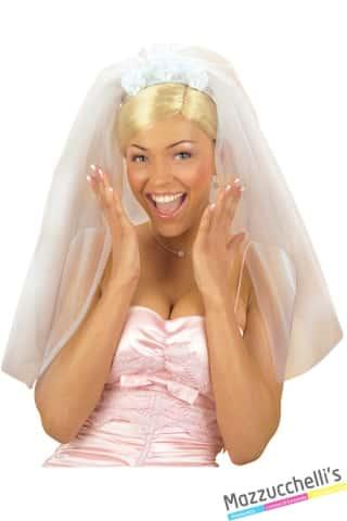 velo da sposa addio nubilato carnevale halloween e altre feste a tema - Mazzucchellis