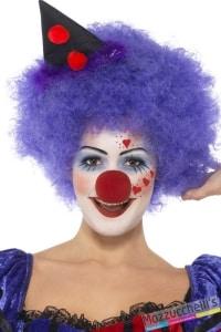 trucco MAKE-UP CLOWN uomo donna pagliaccio carnevale halloween feste a tema - Mazzucchellis