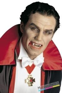 denti bianchi vampiro horror halloween carnevale feste a tema - Mazzucchellis