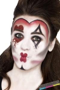 kit make-up queen of hearts halloween carnevale feste a tema - Mazzucchellis