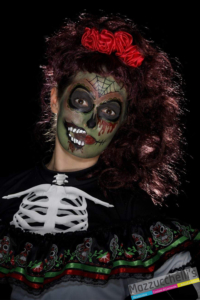 KIT MAKE UP trucco MOSTRI day of the dead zombie carnevale halloween feste a tema - Mazzucchellis