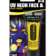 trucco make-up giallo uv neon face e body paints carnevale halloween e feste a tema - Mazzucchellis