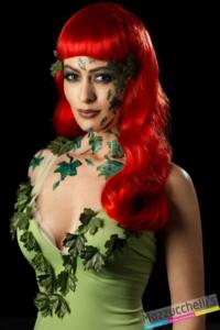 make-up trucco lattice verde carnevale halloween feste a tema - Mazzucchellis