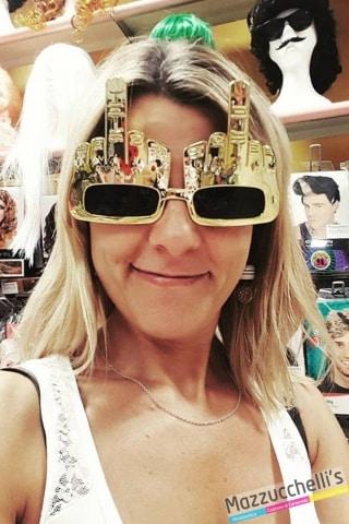 occhiali dito divertente simpatica carnevale halloween e altre feste a tema - Mazzucchellis