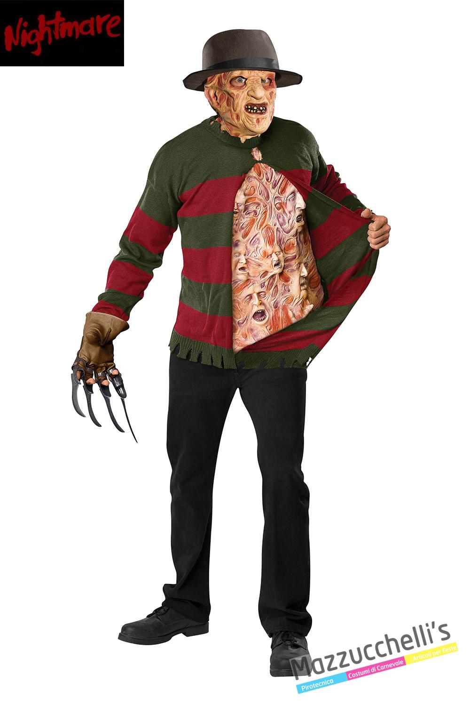 ufficiale più votato Nuovi Prodotti rilasciare informazioni su Costume Freddy Krueger Ufficiale Nightmare in vendita a ...