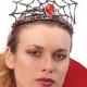 Cerchietto Corona con Ragnatela halloween horror carnevale - Mazzucchellis