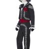 costume Messicano Day of the Dead il Giorno dei morticarnevale halloween o altre feste a tema - Mazzucchellis