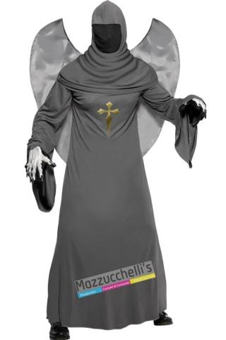 costume angelo della morte horror carnevale halloween o altre feste a tema - Mazzucchellis
