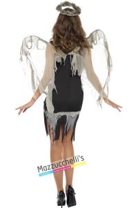 costume angelo gotico halloween , carnevale o altre feste a tema - Mazzucchellis