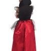 costume bambina regina oscura carnevale halloween o altre feste a tema - Mazzucchellis