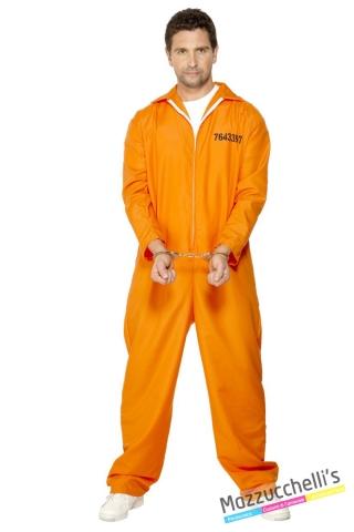 costume carcerato americano carnevale halloween o altre feste a tema - Mazzucchellis