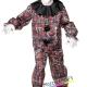costume circo clown pagliaccio horror carnevale halloween o altre feste a tema - Mazzucchellis