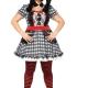 costume curvy baby doll bambola horror carnevale halloween o altre feste a tema - Mazzucchellis