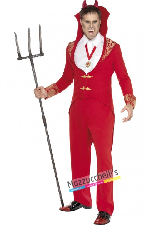 costume diavolo carnevale halloween o altre feste a tema - Mazzucchellis