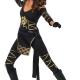 costume donna guerriera ninja carnevale halloween o altre feste a tema - Mazzucchellis