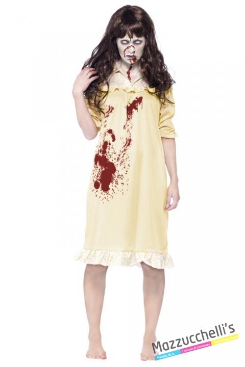 costume film L'esorcista zombie carnevale halloween o altre feste a tema - Mazzucchellis