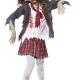costume hight school zombie bambina carnevale halloween o altre feste a tema - Mazzucchellis